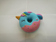 Hot Selling Squishies Blue Donut Unicorn Squishy Slow Rising Toy