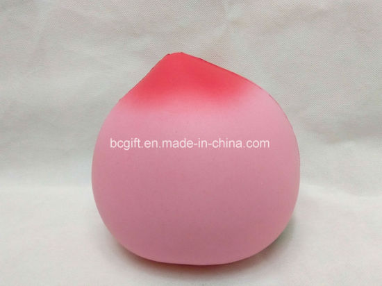 Jumbo Peach Squishy Toy PU Slow Rising Scented Toy