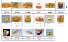Cheap PU Random Breads and Foods Sets Slow Release Squishy Toys Prompt Goods