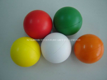 Hot Sale PU Stress Balls Round Plain Various Colors