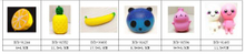 Cheap PU Fruits and Dolls Soft Squishy Toys Prompt Goods