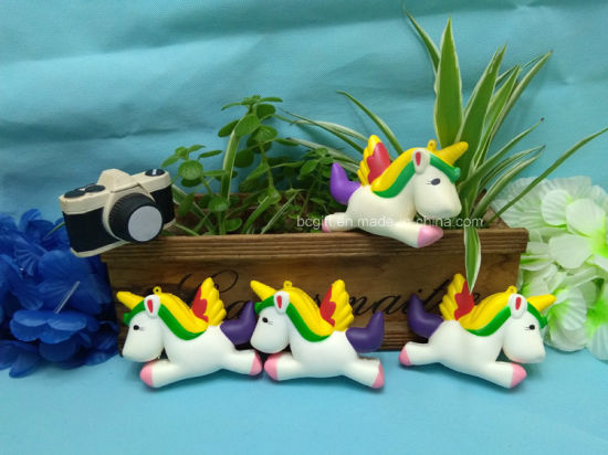 Cute Unicorn Horses PU Squishy Soft Slow Rising Scented Toys