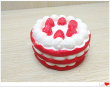 Wholesale Scented PU Slow Rising Squishies Strawberry Cake Super Squishy Toy