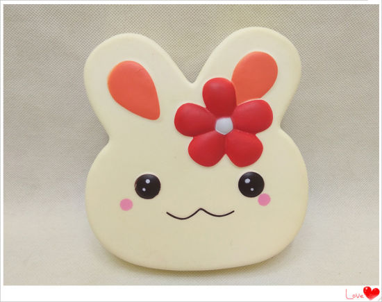 Kids Squishies Bunny Rabbit Cookie Cakes PU Squishy Scented Toy