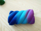 PU Squishy Galaxy Cotton Candy Shape Slow Release Squishie Toy
