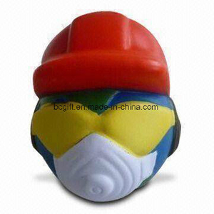 PU Anti-Stress Ball Globe Man Shape Toy