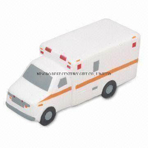 Van Truck Shape PU Foam Promotional Toy Stress Ball