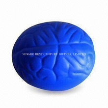 PU Squeeze Stress Toy Brain Design Stress Balls