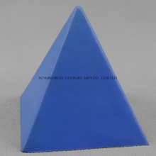 Hot Sale PU Pyramid Shape Stress Reliever Gift Toy