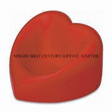 PU Foam Red Heart Shape Mobile Phone Holder Stress Ball