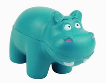 PU Foam Toy Hippos Design Stress Ball