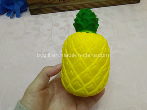 Scented Pineapple Fruits PU Soft Squishies Slow Rising Squishy Toy