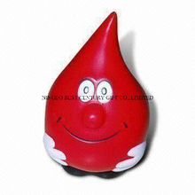PU Stress Reliever Water Droplet Man Shape