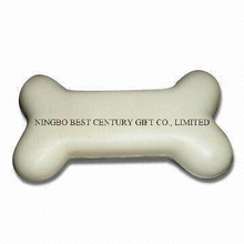 PU Foam Squeeze Toy Bone Design Promotional Stress Balls