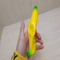 PU Foam Squishy Stress Toy Banana Shaped Soft Scented Squishies