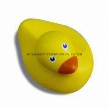 PU Foam Squeeze Toy Duck Design Promotional Stress Balls