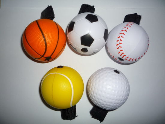 PU Stress Sports Ball Yo-Yos Balls Design Toy