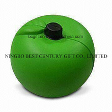 PU Foam Stress Squishy Toy Green Apple Shaped