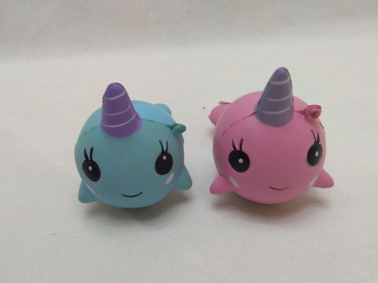 Scented Unicorn Whale Squishies PU Soft Slow Rising Squishy Toy
