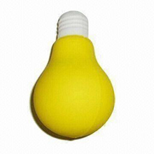 PU Stress Reliever Bulb Design Toy