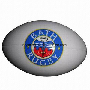 Hot Sale PU Anti Stress Ball Plain Rugby Style Toy