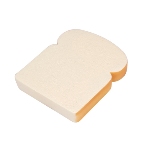 PU Foam Bread Slice Shape Squishy Toy