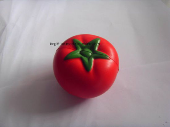 Wholesale PU Stress Toy Tomato Shaped
