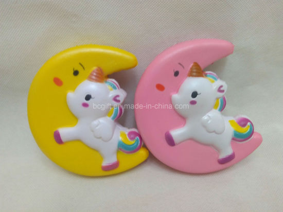 Squishies Moon Pegasus Flying Horse PU Slow Release Squishy Toys