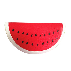 Jumbo Squishy Watermelon Piece PU Slow Rising Scented Squishies Toys