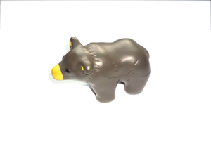 PU Foam Antistress Toy Bear Design Promotional Stress Balls
