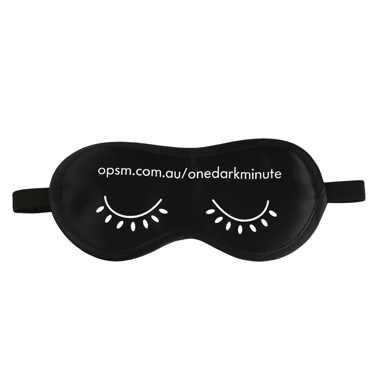 Factory Made Satin Sleep Eye Mask with Customized Logo Wholesale Amazon Eye Patch Sleeping Beauty Novelty Fancy Sleep Night Eyemask
