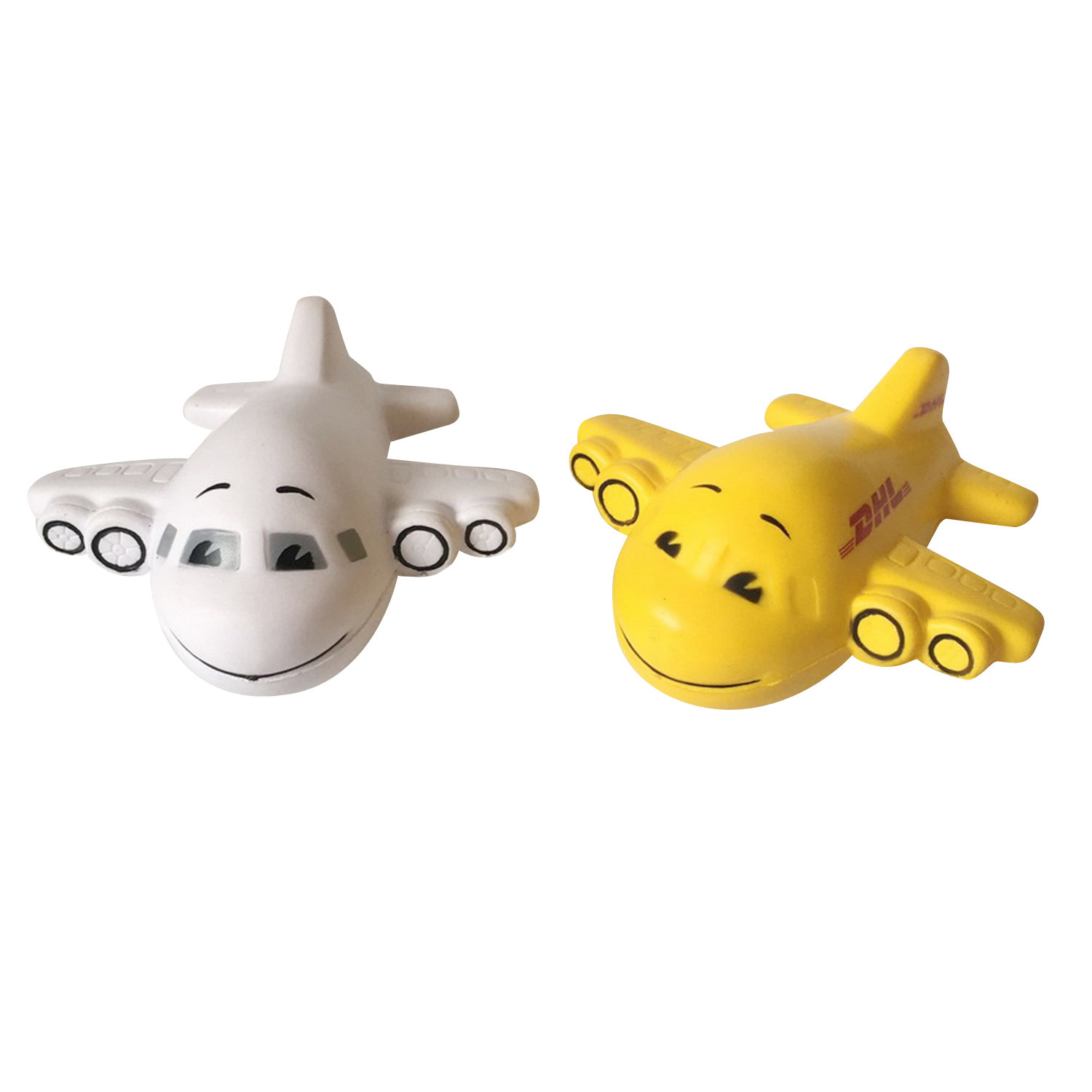 Planes Shape PU Foam Promotional Toy Stress Balls