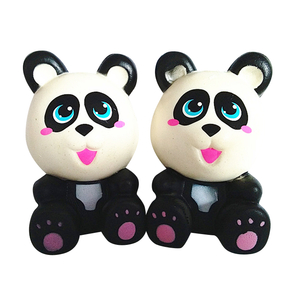 Custom Little Panda Super Soft PU Squishy Slow Rising Toys