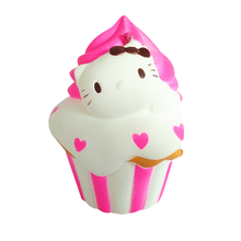 Squishies Kitty Cake PU Soft Squishy Slow Rising Scented Toy